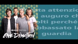 One Direction - If I could fly (traduzione italiana)