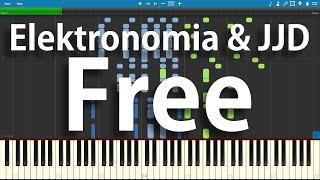 Elektronomia & JJD - Free | Synthesia Piano Cover