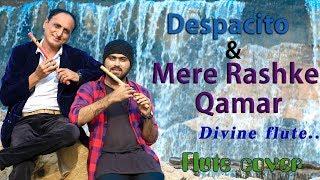 Luis Fonsi-Despacito & Mere Rashke Qamar (Flute cover) by Divine Flute by Karan Thakkar