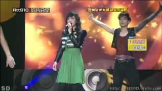 20091206 亞洲星光大道總決賽 快歌 2 李昊嘉 未知(容祖兒).flv