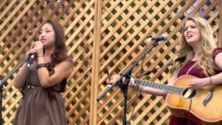 Daechelle and Shyla Day at Oktoberfest 2012