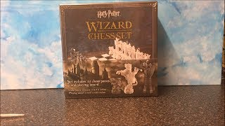Harry Potter Wizard's Chess Set Unboxing! - Noble Collection