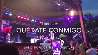Jory Boy - Quédate Conmigo || LIVE @ Six Flags Great Adventure HD