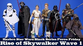 Star Wars Black Series Rise of Skywalker Mandalorian Jedi Fallen Order Force Friday '19 Review