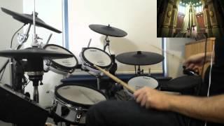 Akame ga Kill! [アカメが斬る!] OP 2 - LIAR MASK - Drum Cover
