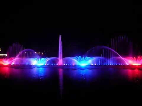 №1 Dancing Fountain Roshen Vinnitsa Ukraine 2011 – largest digital fountain in Europe – video # 1