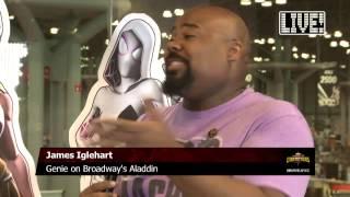 James Iglehart - Ultron Rap on Marvel LIVE!