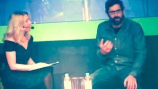Anna Smith Interviews Louis Theroux BVE 2017 EXCEL LONDON - The Screen..LETSVIEWITNOW