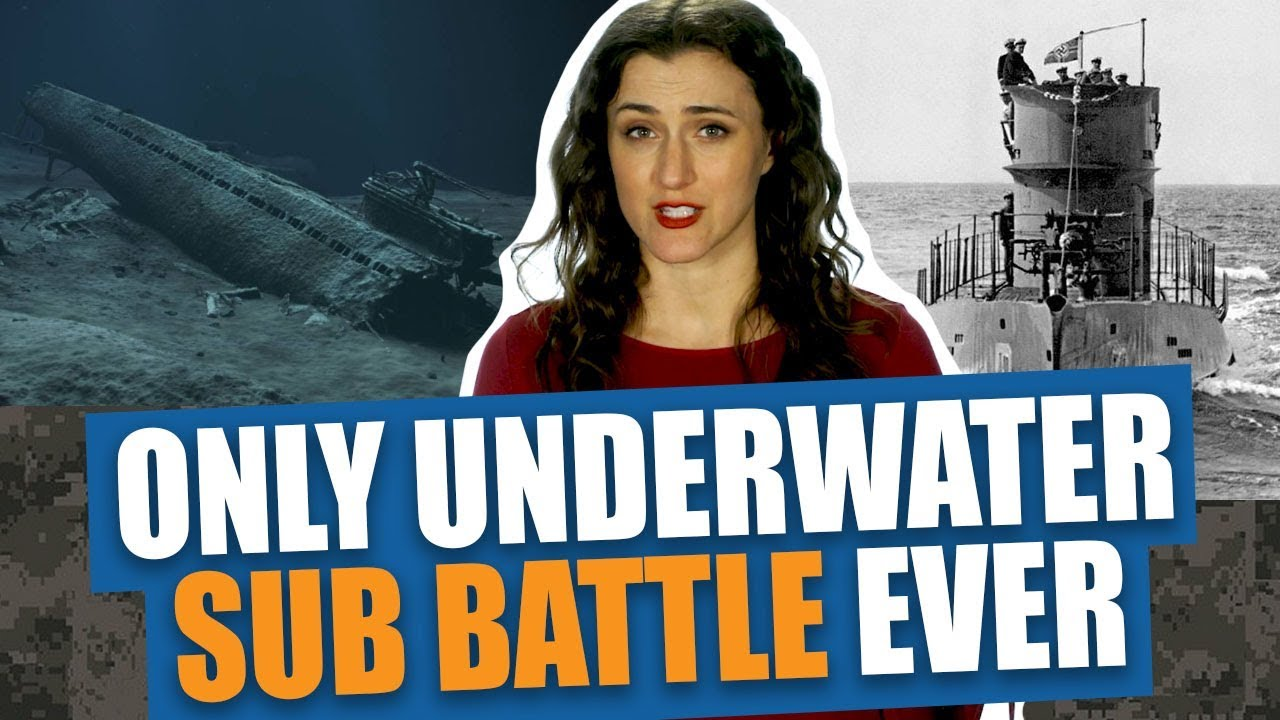 There's only been ONE Underwater Sub Battle in History