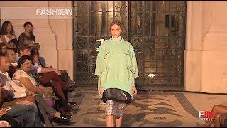 SANGUE NOVO CATARINA FERREIRA Spring Summer 2014 Lisbon - Fashion Channel