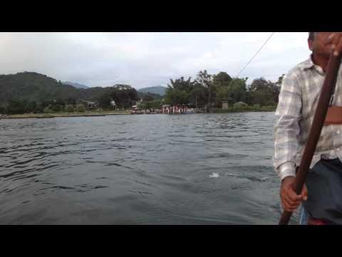 Boat trip Pokhara lake, Nepal – part 3
