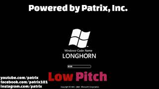 Windows Longhorn Startup Sound (Low Pitch)