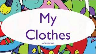 Clothing Song for Kids - My Clothes With Sentences - ELF Kids Videos