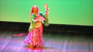 Carmem Rosca  - Dança Cigana - Coreografia Isla Bonita