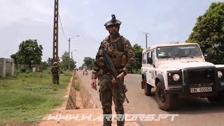 Comandos e TACP MINUSCA  (Forças Especiais Portuguesas na África)