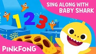 Shark 123 | Baby Shark Number Song | Sing along with baby shark | Pinkfong Songs for Children