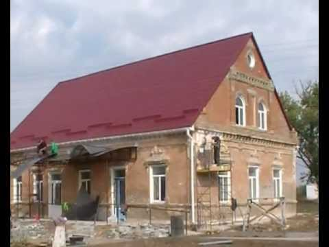 Building of House for Orphans in Kalinovka