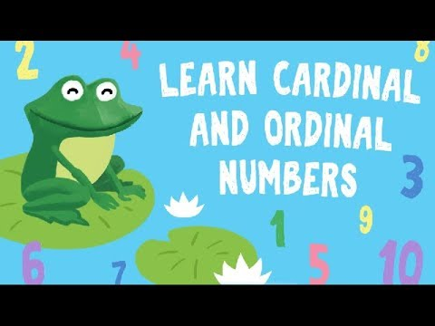 Learn Ordinal Numerals