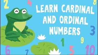 Learn ordinal numbers for kids | How to Teach Your Kid Learn Numbers | Practice Cardinal Numbers