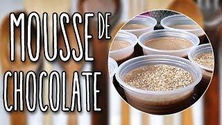 # 103 - MOUSSE DE CHOCOLATE RÁPIDO SEM FOGÃO - QUICK CHOCOLATE MOUSSE WITHOUT STOVE - RECEITA DE MÃO