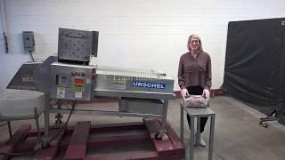 Urschel Belt-Fed Stainless Steel Dicer and Strip Cutter Demonstration