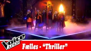 Rud, Sille, Melina, Aland, Isabella og Sophie synger  Michael Jackson – 'Thriller' – Voice Junior