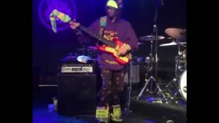 MonoNeon solo on America (with Jonathan Scales)