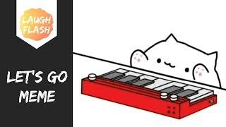 Let's Go Bongo Cat Keyboard Meme 🔥🔥🔥