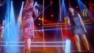 """The Voice battle Lola vs Louyena """" Encore et Encore """""""