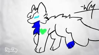 Wolf walk cycle -Flipaclip