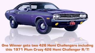 2013 Challenger Dream Giveaway