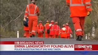 Young jogger found alive near Bendigo