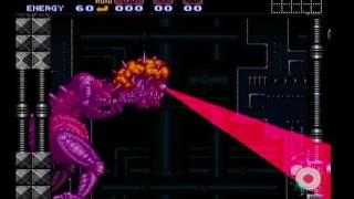 Super Metroid Mother Brain No Energy Tanks Fail
