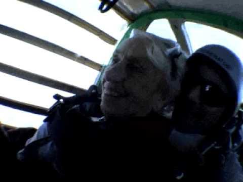 Skydiving grannies