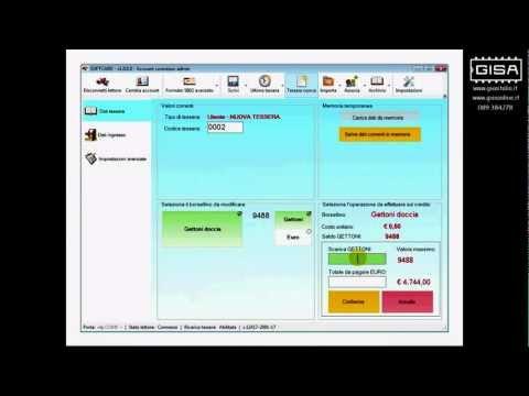 SOFTCARD - Scalare il credito di una tessera ovale