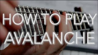 How To Play Avalanche | Bring Me The Horizon | Guitar Lesson width=