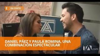 Daniel Páez se junta en la musica con Paula Romina - En Corto