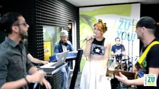 Crush + Alexandra Ungureanu ft. Glance - Iubire de-o vara (Live la Radio ZU)