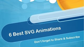 6 Best Svg Animations