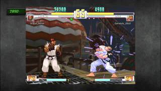 SF3 - Akuma*Snipasteve vs Ryu*Genesis2010 Crazy A rank parry