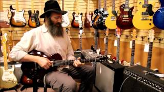 Lazer Lloyd - Israel's King of the Blues here at Norman's Rare Guitars