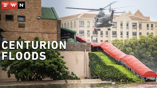 Floating cars, water-filled roads and helicopter rescues – Centurion floods