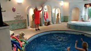 🕺🏊 Hands Up - Pink Band - Aqua Dance Party Class - Lose it with Jody
