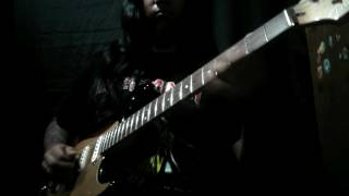 Iron Maiden  - Hallowed Be Thy Name 2016 (SOLOS COVER AND FRAGMENT)