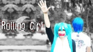 Rolling Girl | Hatsune Miku [Vocaloid Live Action]
