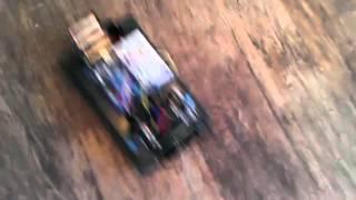 Battle Tank + Arduino + beetlebot = fun