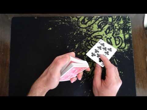 خدع الورق - حركة سحب الكرت