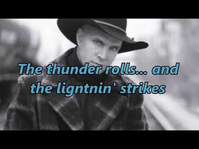 Video oficial de Thunder Rolls de Garth Brooks