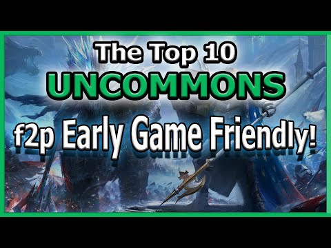 RAID Shadow Legends | THE TOP 10 UNCOMMONS! | f2p Early Game Friendly!