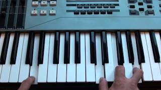 How to play Rumour on piano - Chloe Howl - Tutorial